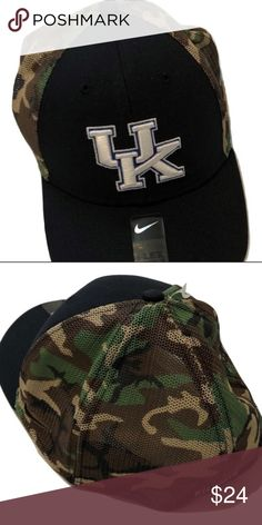 Kentucky Wildcats Nike Camo Hook Flex-Fit Hat Kentucky Wildcats Nike  Dri-Fit Camo 6e7b8c04f773