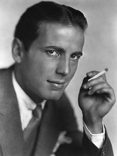A very young Humphrey Bogart.