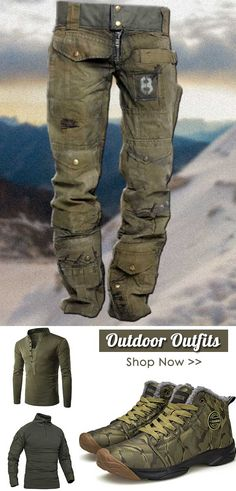 Mens Tactical Pants, Tactical Wear, Tactical Clothing, African Clothing For Men, Mens Clothing Styles, Outdoor Wear, Outdoor Outfit, Motard Sexy, Mens Outdoor Clothing