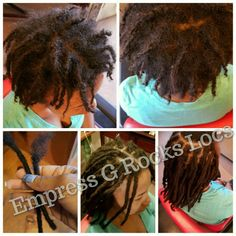 Dreadlock Extensions Added to Starter Locs