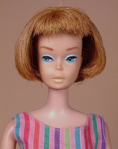 American Girl (Bendable Leg) Vintage Barbie c. 1965