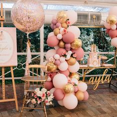 How devine are these colours we created we created for @luxecoutureevents ... balloons by us and photography by @zbyzahrah