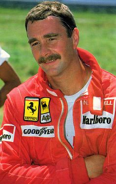 """In preparation for the 1989 season Mansell became the last Ferrari driver to be personally selected by Enzo Ferrari before his death in August 1988 an honour Mansell described as """"one of the greatest in my entire career"""". Ferrari Racing, Ferrari F1, F1 Racing, Jochen Rindt, Brazilian Grand Prix, Nigel Mansell, Gilles Villeneuve, Formula 1 Car, F1 Drivers"""