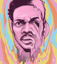Chance The Rapper...Please Say The Rapper -AcidRap  -Artist Unknown