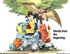 Ash and his Kanto Pokemon
