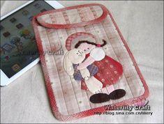 iPad mini case (front) Tutorial -- http://m.blog.sina.com.cn/s/blog_68f099800101d4cb.html#page=3