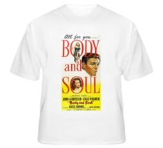 Body and Soul - Film Noir T Shirt