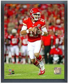 "Alex Smith 2013 Kansas City Chiefs - 11"" x 14"" Photo in a Glassless Sports Frame"