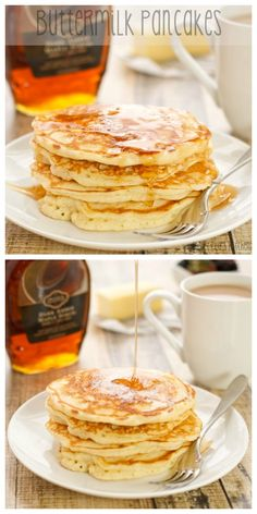 Buttermilk Pancakes...the best recipe I've made!