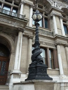 More of fabulous London.  I want to see so much! Old City of London School
