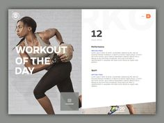 Workout Of The Day by Barthelemy Chalvet