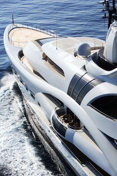 palladium yacht | yacht Palladium designed by Michael Leach Design — Luxury Yacht ...