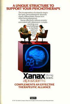 Psych Drug AdsVintage Valium Advertisements