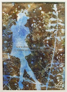 "i wonder  lindagermain.blogspot.com/2009/12/i-wonder-gelatin-print-... one of a kind hand pulled gelatin print by Linda Germain approximately 5"" x 7"" and matted to 8"" x 10"". The watermark ""germain"" is not part of the print and is just there for copyright purposes. www.linda-germain.com//"