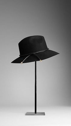 Burberry Felted Fedora Hat