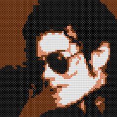 Michael Jackson Cross Stitch Chart