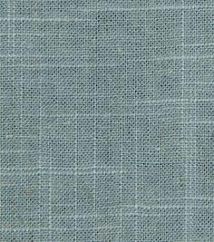 Upholstery Fabric-Robert Allen Linen Slub-RainUpholstery Fabric-Robert Allen Linen Slub-Rain,