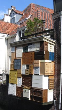 Drawers at the Krommegracht in Amersfoort