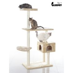 Have to have it. GleePet 57 in. Cat Tree - $61.7 @hayneedle