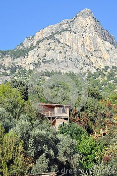 Cottage and mountain in  Shambala Mugla/turkey