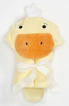ducky hooded towel