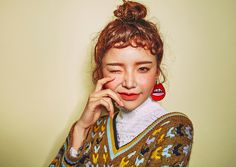 Channel your inner Korean goddess with this flirty hair trend.