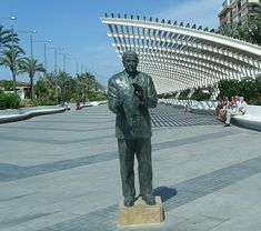 Torrevieja on the Costa Blanca. The statues are amazing!