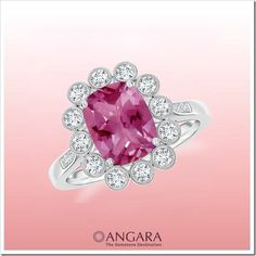 Rings are an ultimate expression of love! It is an expression a woman will always cherish and savor for generations to come. Whether you are about to go down on one knee or an affirmation, this gemstone jewelry has been a beautiful pick by every man and woman.    Pink tourmaline comes in romanti