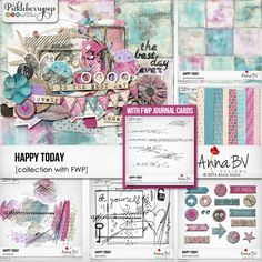 Pickleberrypop :: Bundles/Collections :: Happy Today collection with FWP