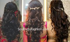 Indian Wedding Hairstyles 2020 top 10 south Indian Bridal Hairstyles for Weddings Lehenga Hairstyles, Bollywood Hairstyles, Old Hairstyles, Elegant Hairstyles, Amazing Hairstyles, Hairstyle Ideas, South Indian Bride Hairstyle, Indian Wedding Hairstyles, Engagement Hairstyles