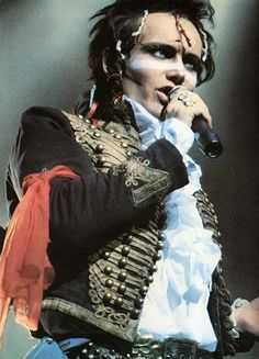 Adam Ant    #music   #pop  #rock  #soul  #rnb  #metal  #live  #guitar  #drums  #stage  #performance  #grunge  #indie  #hardrock