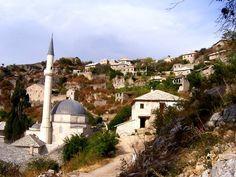 Pohled na Počitejl, Bosna a Hercegovina