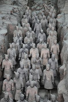 Museum of Qin Terracotta Warriors, Xian city, Shaanxi Province, China