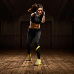 Cardio Ultras + sweet compression leggings + crop top = ultimate #BODYCOMBAT outfit