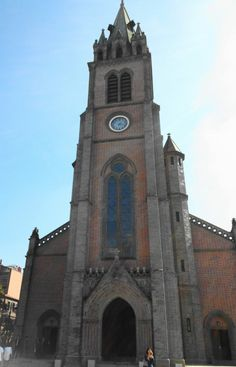 Myeongdong Cathedral in Seoul - Front