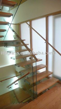 staircase glass Handrail