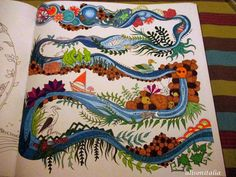 1000 images about mes coloriages on pinterest anti for Decoration foret enchantee