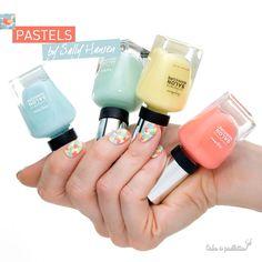 Un peu de pastel dans ce monde de taré !! http://www.cakoapaillettes.fr/blog/pastels-by-sally-hansen/
