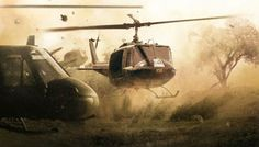 The workhorse of Vietnam... The Huey!