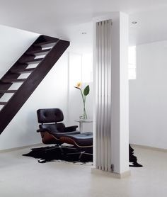 The Aeon Lunar Designer Radiator is a futuristic design, with vertical columns running the length. This is one of Great Rads favourites. Tall Radiators, Flat Panel Radiators, Vertical Radiators, Column Radiators, Stainless Steel Radiators, Stainless Steel Panels, Brushed Stainless Steel, Designer Radiator, Futuristic Design