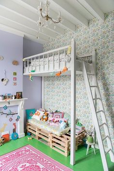 25 Cool and Fun Loft Beds for Kids: