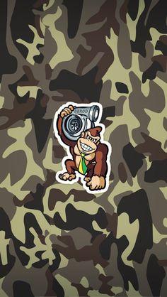 monkey, turbo, fan, art, bbrod