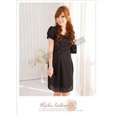 Satin Simple & Formal Black Dress $69.90 at www.Glamorazzi.com.au