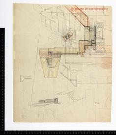 Carlo Scarpa - Archive at museo di castelvecchio