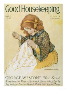 vintage girl for Good Housekeeping