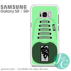 Green Vans Shoe Phone Case for Samsung Galaxy S8 & S8 Plus