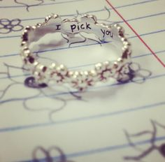 I Pick You Ring September 2017