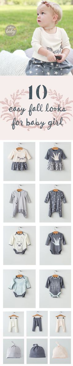 Perfect easy styles all in 100% softest cotton. Fresh, modern designs from the artwork of Hallmark artist David P. Mix and match for girls age 0-5 exclusively from Hallmark Baby