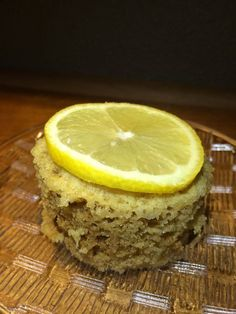 Microwave Lemon Cake