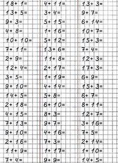 Number Worksheets Kindergarten, Kindergarten Lessons, School Worksheets, Math Activities, Abacus Math, Math Websites, Math Drills, Maths Solutions, Math School